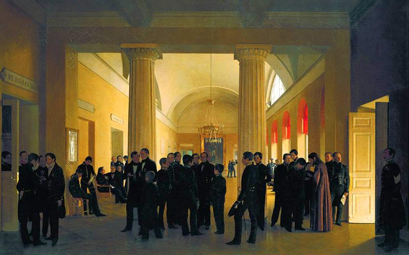 Императорское училище правоведения. С.К. Зарянко. Иллюстрация: wikipedia/commons