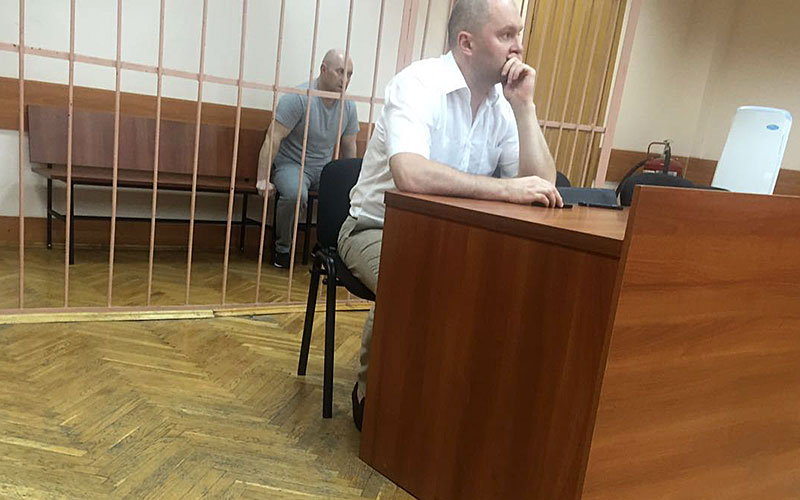 В столицеРФ вынесен вердикт обвиняемому врейдерском захвате здания наГоголевском бульваре