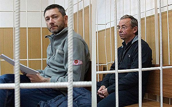 Борис Вайнзихер (слева) и Евгений Ольховик. Фото: Наталия Казаковцева/ТАСС