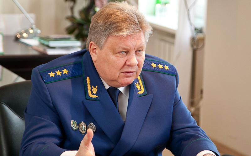 Замгенпрокурора Воробьев отстранен отдолжности