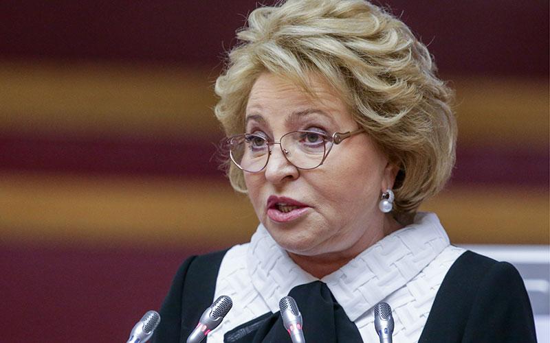 Валентина Матвиенко предложила дать Совфеду право отлагательного вето