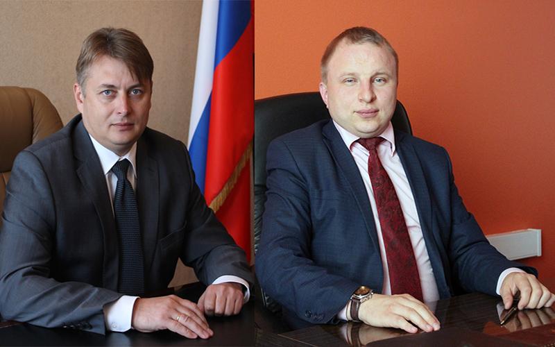 Олег Михеев (слева) и Сергей Храмов. Фото: kadastr.ru
